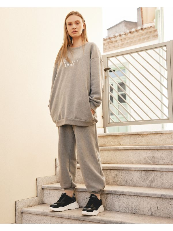 BUTTERMILK GREY UN PANTS