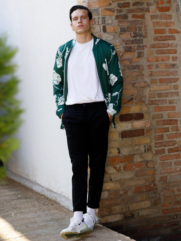 BOMBER GREEN JACKET