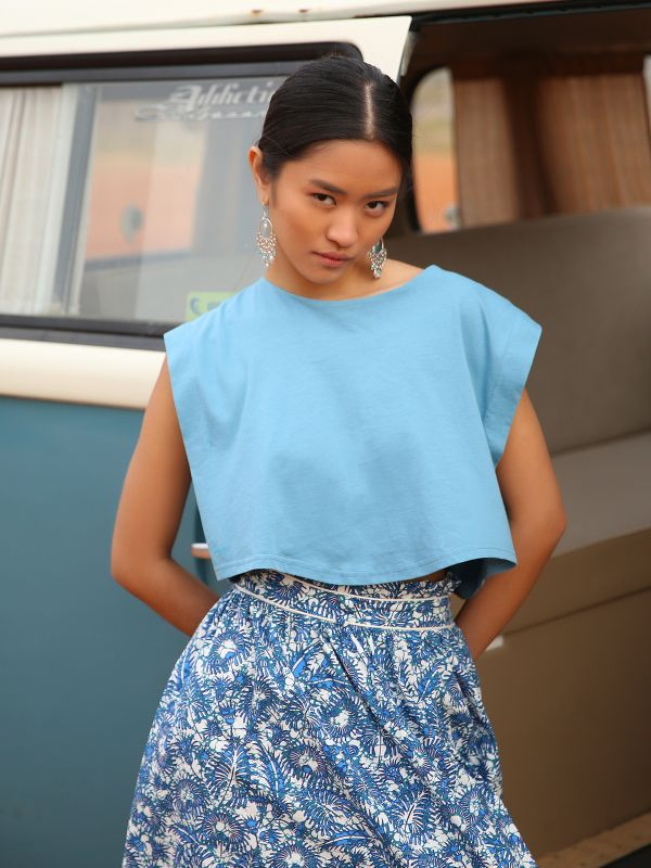 CANDY BLUE TOP