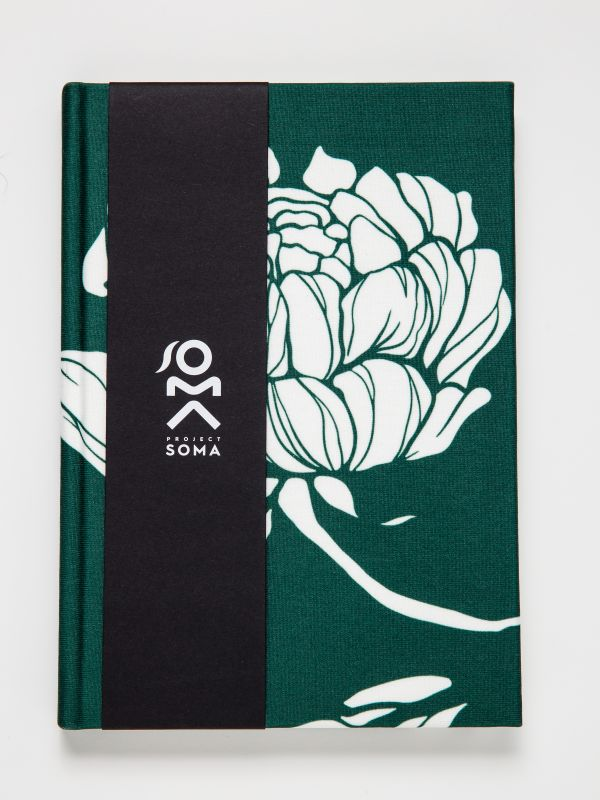 LIMITED EDITION A5 GREEN FLORAL NOTEBOOK