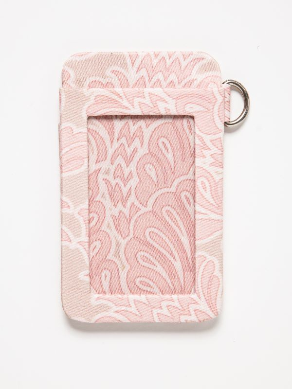 LIMITED EDITION BABY PINK CARD WALLET